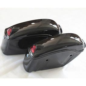 Alforja Para Motocicletas Fy-b Color Negro