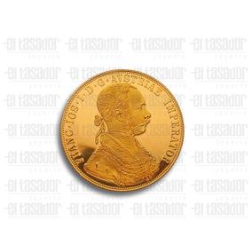 Moneda De Oro 4 Ducados De 23 3/4 Kts. *joyeriaeltasador*