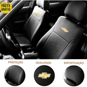 Capa Banco Couro Celta Corsa Astra Prisma Logo Gm Promoção