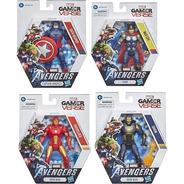 Avengers Marvel Gamer Verse Paquete 4 Figuras Muñecos Hasbro