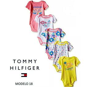 71ab6a846 Set 5 Bodys Tommy Hilfiger Original P niñas De 3-6 Meses