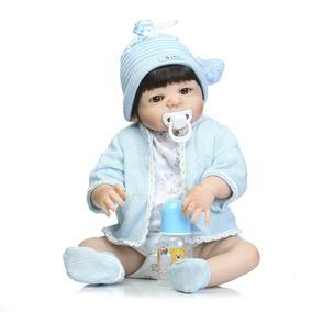 Bebê Reborn Menino Silicone Promoção Menor Do Ml $ $ $ $ $