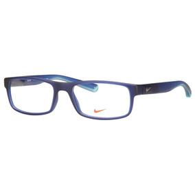Óculos Nike Eyeglasses Nk 7210 Blue 437 Nk7210 54 - Óculos no ... a847bfa3df