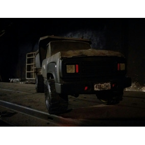 Camion Lamina Vintage. Volquete 1/16. Custom.