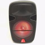Bocina Amplificada 12 Pulgadas Bluetooth Recargable Luz
