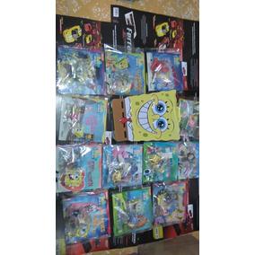 Colección De Libros Y Figuras Do Bob Esponja