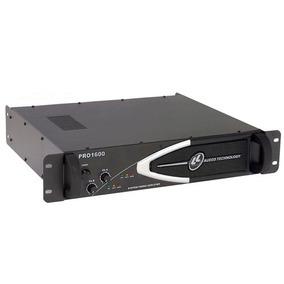 Amplificador De Potência Ll Audio Pro1600 - 400w Rms