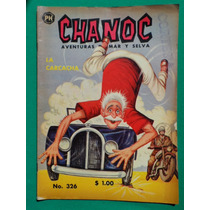 1966 Chanoc Aventuras De Mar Y Selva #326 Comic Herrerias