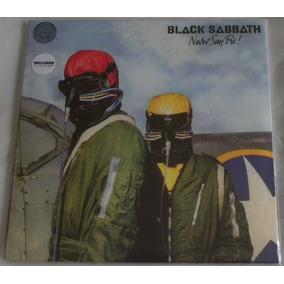 Black Sabbath Never Say Die Lp + Cd Selado Made In England