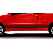 Adesivos Fiat Uno Mille Sx Faixa Lateral Tuning Acessorios