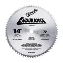 Disco Para Metal De Carburo   48-40-4505   Milwaukee