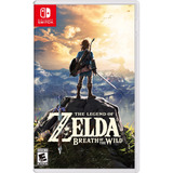 Juego Nintendo Switch Legend Of Zelda Breath Of The Wild