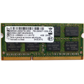 Memoria Notebook Ddr3 4gb Pc3-12800s 2rx8 Smart 1600mhz