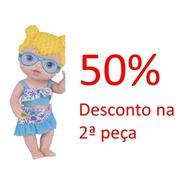 Promoção Boneca Babys Collection Praia 414