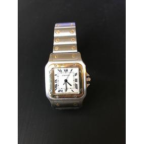 Reloj Cartier Santos Oro Acero Caballero $54,000
