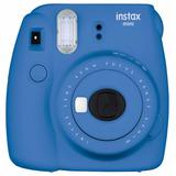 Cámara Instantánea Fujifilm Instax Mini 9- Azul Cobalto