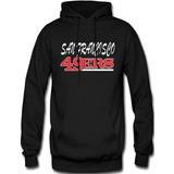 Sudadera San Francisco 49ers Nfl Hoodie Capucha Cangurera