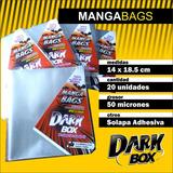 Manga Bags Bolsitas Para Mangas Ivrea Y Otros 14x18.5 Cm
