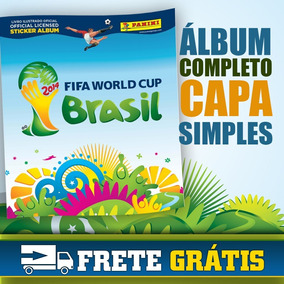 Álbum Completo Copa Do Mundo 2014 Brasil Figurinhas Panini