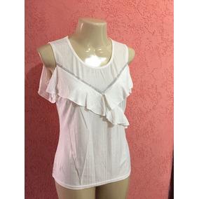 Blusa Branca Com Brilho (tamanho M) Réveillon
