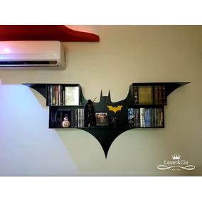 Prateleira Batman Mdf 6mm Corte À Laser. Série Heróis