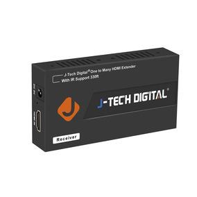 J - Tecnología Digital Hdmi Extensor Encima Solo Cat 5e / 6