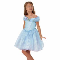 Disfraz Princesa Cenicienta Disney Talla 4t Zapatos Y Corona