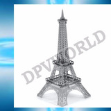 Rompecabezas Torre Eiffel Metalico Figura 3d Piezas Armables