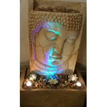 Buda Bellisima Fuente (85 Cms) + Bomba + Luz