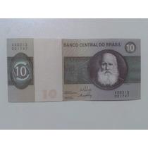 Notas, Cédula Antiga 10 Dez Cruzeiros - Série 313 - N.21747