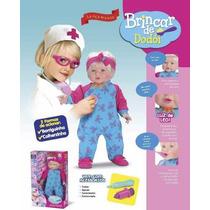 Boneca Brincar De Dodói Dra. Médico - Divertoys