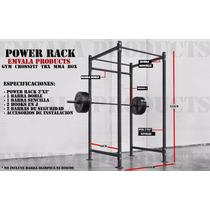 Power Rack! Sentadillas Gym Crossfit Mma Box Press Trx