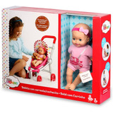 Muñeca Little Mommy Con Carreola Juguete Para Niñas