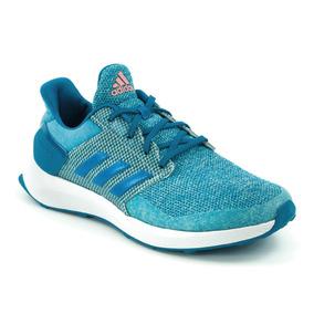 Tenis adidas Rapidarun K Azul Niños Nuevo By8973