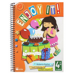 Livro Enjoy It! 3ª Série 4º Ano + Expert Lingua Portuguesa