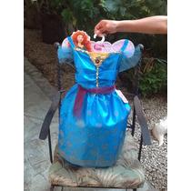 Vestido De Princesa Disney Autentico Valiente