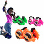 Patines Roller Para Zapatillas Luz Led Ajustable 2 Ruedas