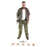 The Walking Dead Merle 1/6 Figura Threezero - Robot Negro