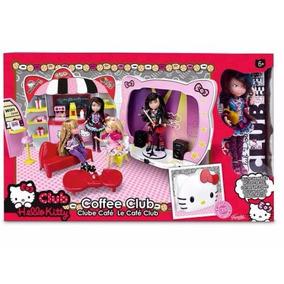 Hello Kitty Club Cafe Famosa Caja Maltratada
