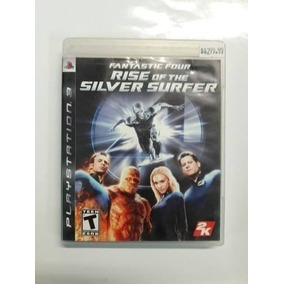 Fantastic Four Rise Of The Silver Ps3 Seminuevo En Igamers