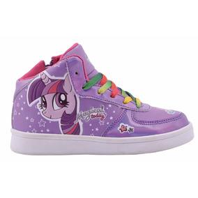 Zapatillas Pequeño Little Pony Con Luces Footy #207 208 209