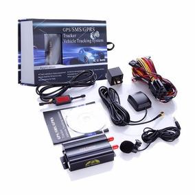 Rastreador Bloqueador Gps Veicular Tk103 + Controle Remoto