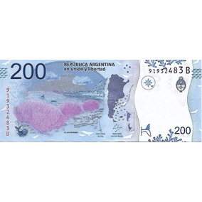 Nuevo Billete $200 Ballena Austral S/circ. Serie B Palermo