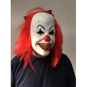 Máscara Payaso Malo It 100% Látex Payaso Asesino