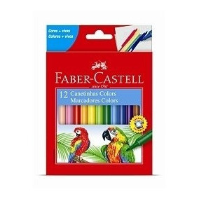 Canetinha Colors 12 Cores