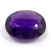 34.70cts Ametista Roxa Natural Oval