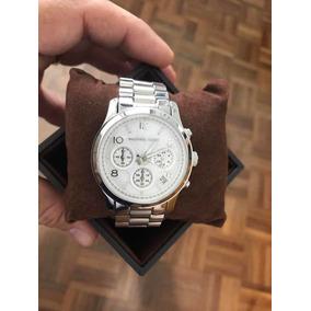f417d9535fa Relógio Michael Kors Mod Mk 5449 Mov À Quartz Novo Na Caixa ...