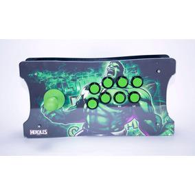 Controle Arcade Fliperama Pc Pi3 Ps3 Ps4 - Ergonomico