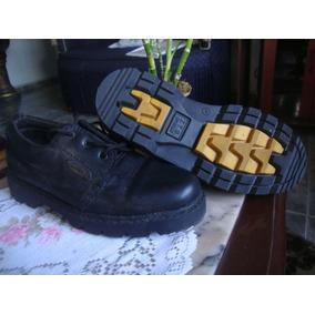 Zapatos Colegial De Cuero 37 Oferta