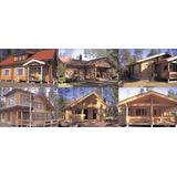 _ Kit Construcción Casa, Chalet O Cabaña De Madera